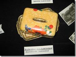 Butterdose aus dem Sudetenland