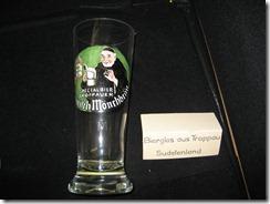 "Bierglas ""Troppau"" aus dem Sudetenland"