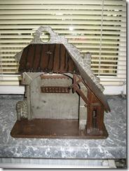 Krippenfigurenstall aus dem Sudetenland