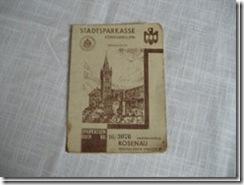 """Sparbuch """"Königsberg"""""""