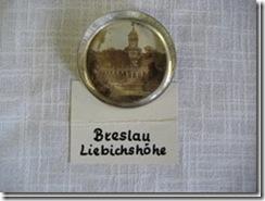 Briefbeschwerer Breslau Liebigshöhe aus Schlesien