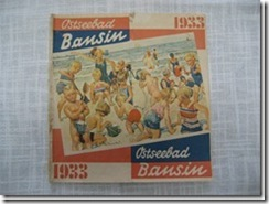 """1 Prospekt """"Bansin"""" 1933 aus Pommern"""