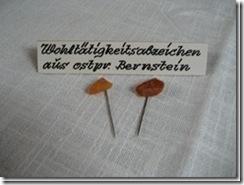 Wohltätigkeitsabzeichen aus Ostpreußen