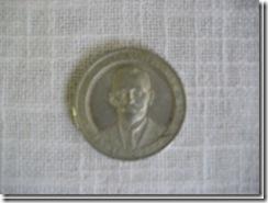 größere Alu-Medaille aus Schlesien