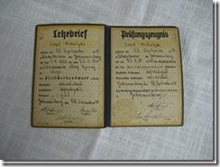 "Lehrbrief ""Johannisburg"" aus Ostpreußen"
