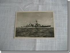 """Karte """"Kreuzer Königsberg"""""""
