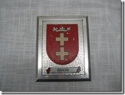 """1 Wappen """"Danzig"""" / Posen"""