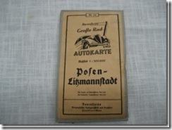 """Karte """"Posen/Litzmannstadt"""""""