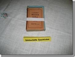 Sparbücher aus Ostpreußen