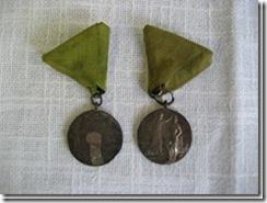 """Medaillen """"Schlesisches Bundesschießen"""" aus Schlesien"""