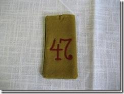 """Schulterklappe """"Schlesisches Regiment"""""""