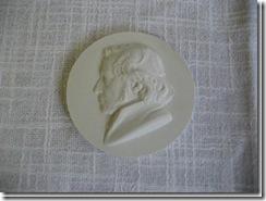 """Medaille """"Schleiermacher Meißen"""" aus Schlesien"""