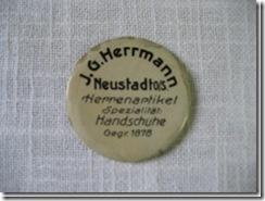 """Werbespiegelchen """"Neustadt"""" aus Schlesien"""