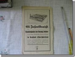 Krankenhaus-Jahresbericht aus Schlesien