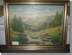 Wandbild Schneegruben Riesengebirge aus Schlesien