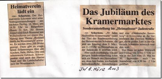2003-03-08 JW Ankündigung