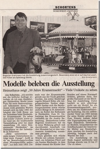 2003-03-11 NWZ Bericht